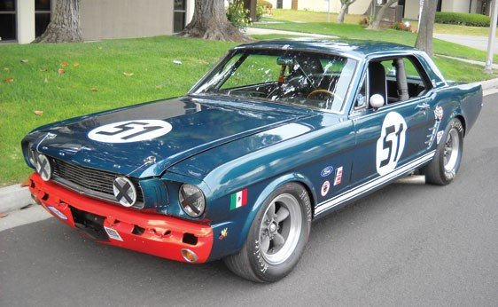 107: 1966 Ford Mustang FIA Racing Car