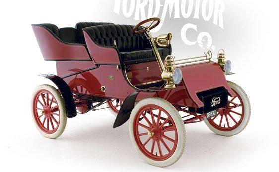 116: 1903 Ford Model A Rear Entry Tonneau