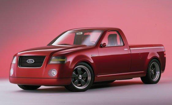 118: 2001 Ford F150 Lightning Rod Concept