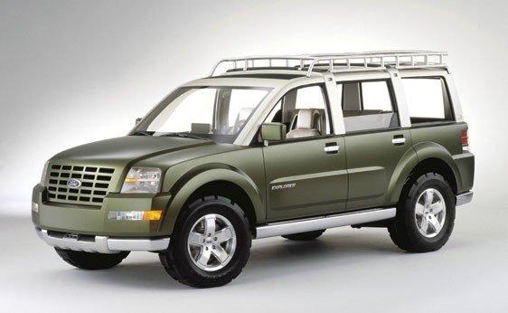 119: 2001 Ford Explorer Sportsman Concept
