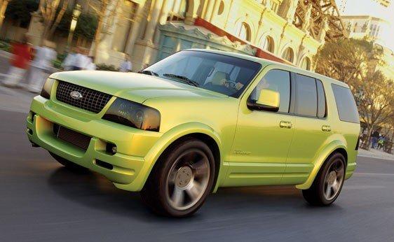 122: 2001 Ford Urban Explorer Concept