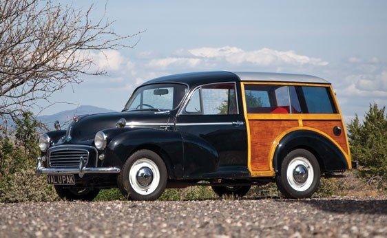 202: 1963 Morris Minor Traveller Station Wagon