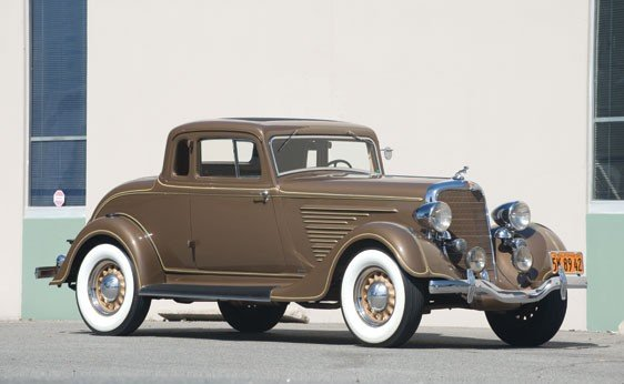 206: 1934 Dodge Deluxe DR Coupe