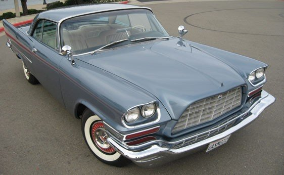 209: 1958 Chrysler 300D Coupe