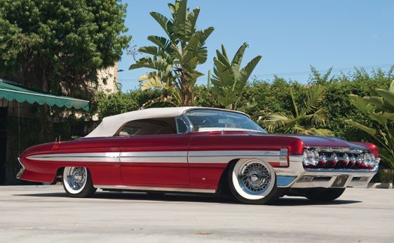 "220: 1961 Oldsmobile Custom Convertible ""Aladdin"" by Jo"