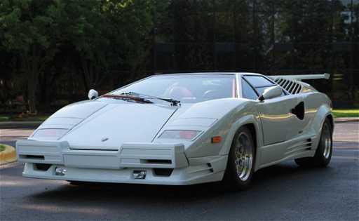 233 1989 Lamborghini Countach 25th Anniversary Edition