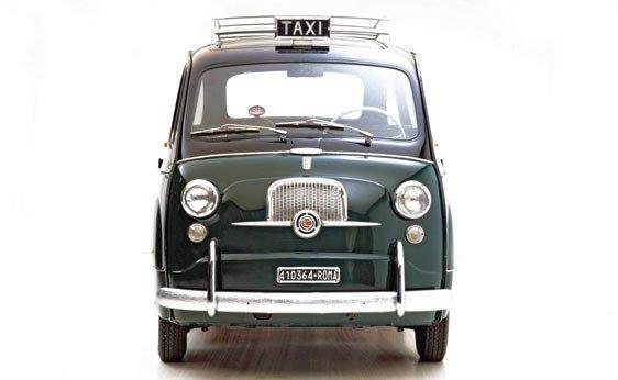 """308: 1960 Fiat 600 """"Multipla"""" Taxi  - 10"""