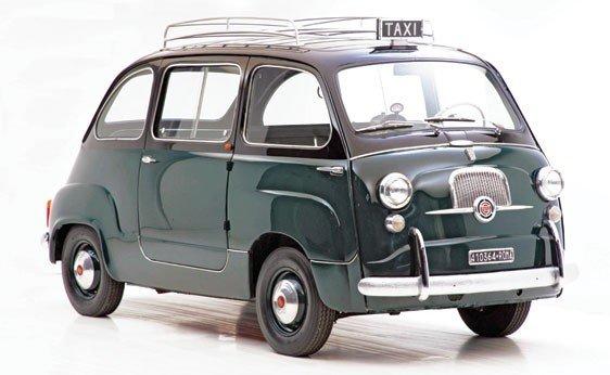 """308: 1960 Fiat 600 """"Multipla"""" Taxi"""
