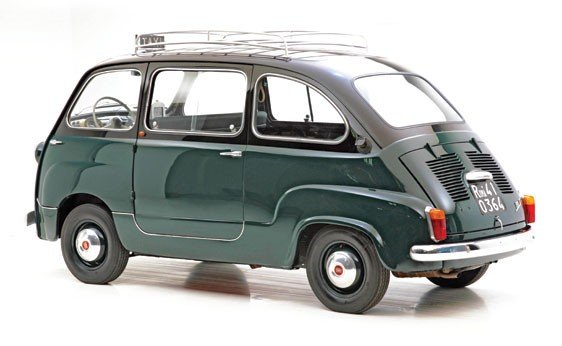 """308: 1960 Fiat 600 """"Multipla"""" Taxi  - 2"""