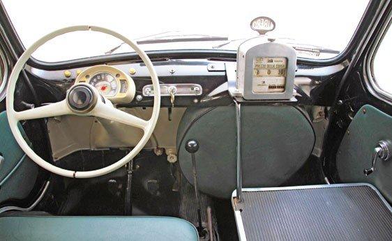 """308: 1960 Fiat 600 """"Multipla"""" Taxi  - 4"""