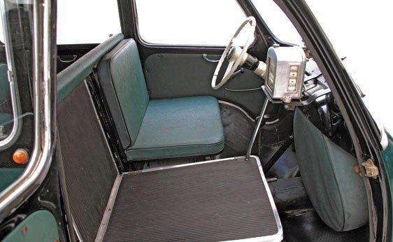 """308: 1960 Fiat 600 """"Multipla"""" Taxi  - 5"""