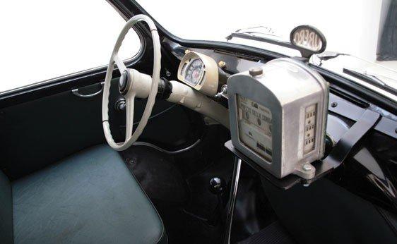 """308: 1960 Fiat 600 """"Multipla"""" Taxi  - 6"""
