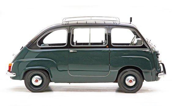 """308: 1960 Fiat 600 """"Multipla"""" Taxi  - 8"""