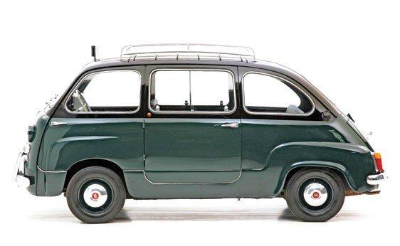"""308: 1960 Fiat 600 """"Multipla"""" Taxi  - 9"""