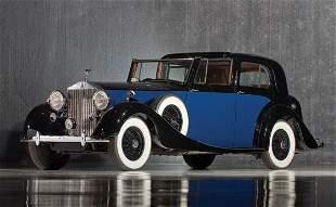 333: 1937 Rolls-Royce Phantom III Sedanca deVille