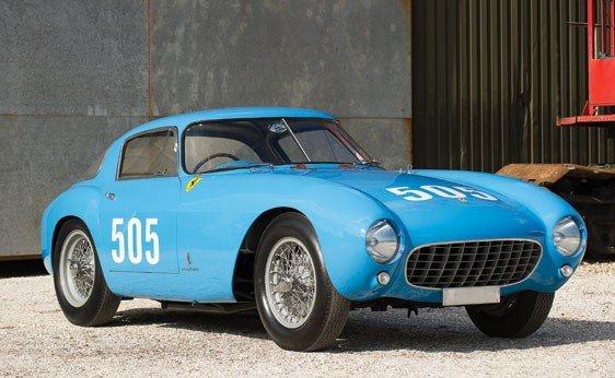 342: 1954 Ferrari 500 Mondial Berlinetta