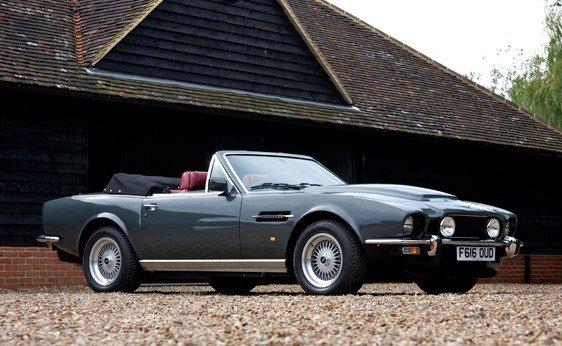 "106: 1989 Aston Martin V8 Volante ""Prince of Wales"""