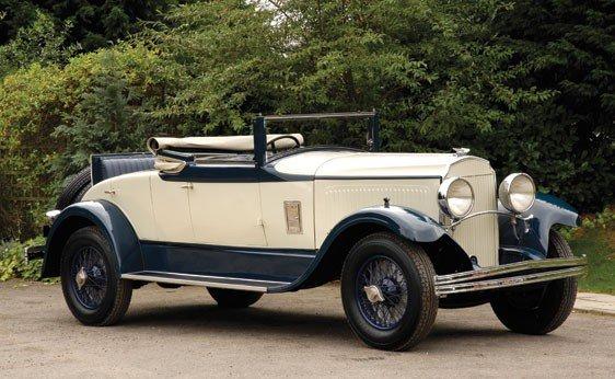 107: 1929 Chrysler Imperial L80 Convertible Coupé