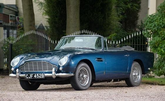 109: 1964 Aston Martin DB5 Convertible