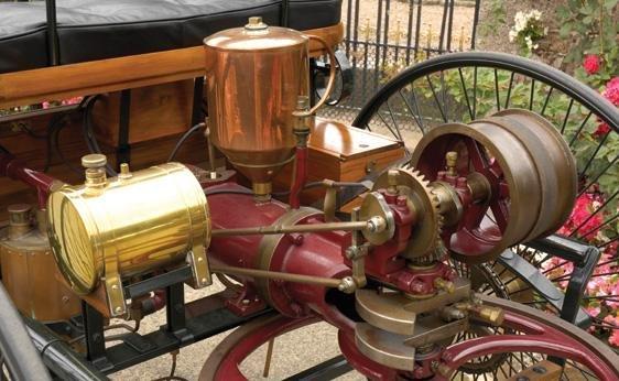 111: 1886 Benz Patent Motorwagen Replica - 3