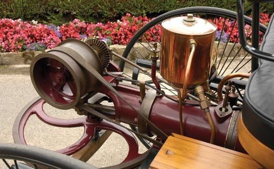 111: 1886 Benz Patent Motorwagen Replica - 8