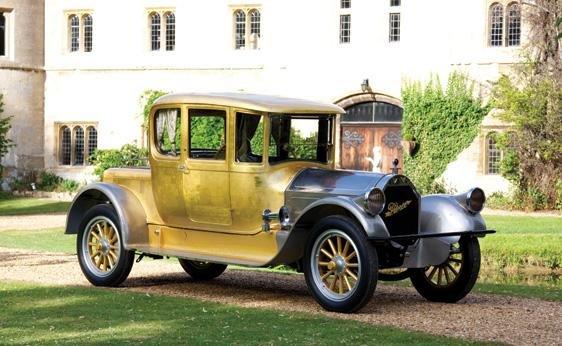 113: 1920 Pierce-Arrow Model 48 2/3-Passenger Coupé