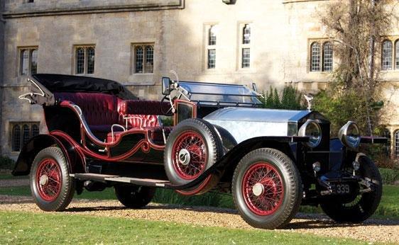 114: 1930 Rolls-Royce Phantom II LWB Open Tourer