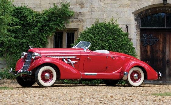 115: 1935 Auburn 851 Supercharged Speedster