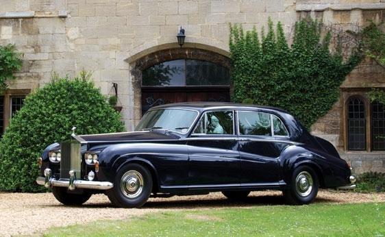 116: 1964 Rolls-Royce Phantom V Seven-Passenger Limousi