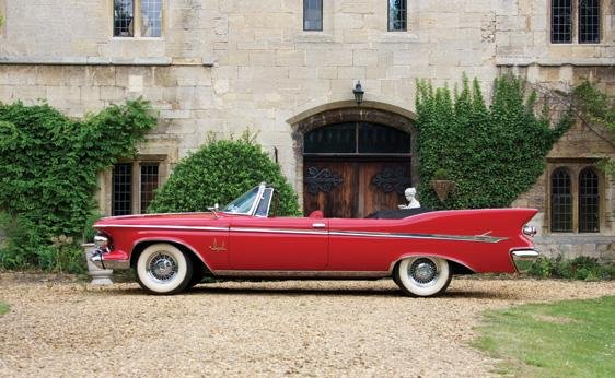 124: 1961 Chrysler Imperial Crown Convertible - 5