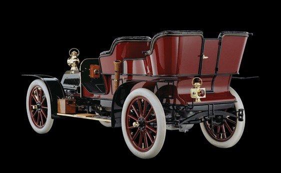 137: 1904 DeDion-Bouton Model ADL Rear-Entry Tonneau - 2