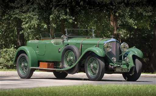 168 1931 Bentley 8 Litre Tourer