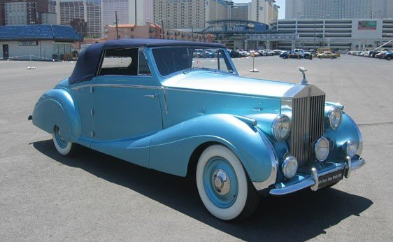 115: 1947 Rolls-Royce Silver Wraith Drophead Coupe