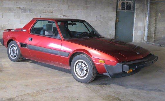 202: 1987 Fiat Bertone X1/9 Convertible