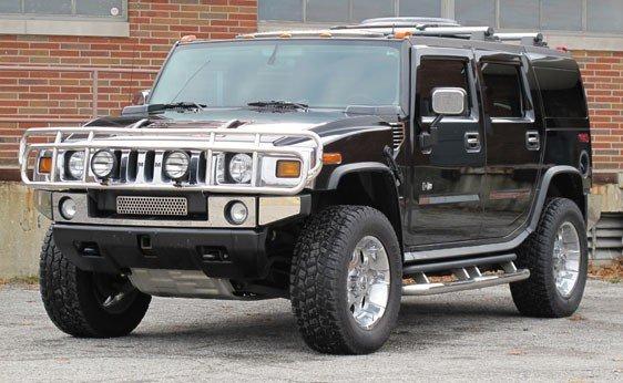 204: 2004 Hummer H2 Sport Utility Vehicle