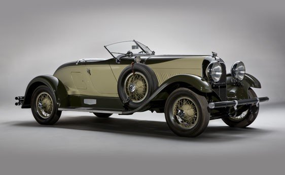 216: 1929 Auburn 8-90 Speedster