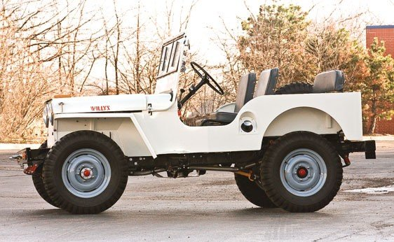 220: 1946 Willys Jeep