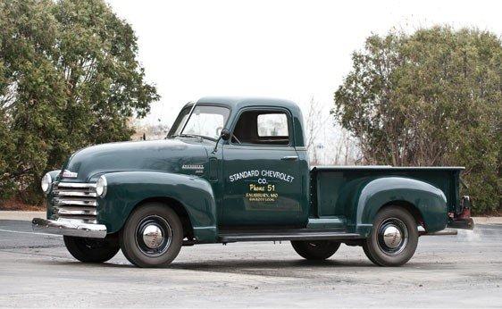 222: 1950 Chevrolet 1/2 Ton Pickup
