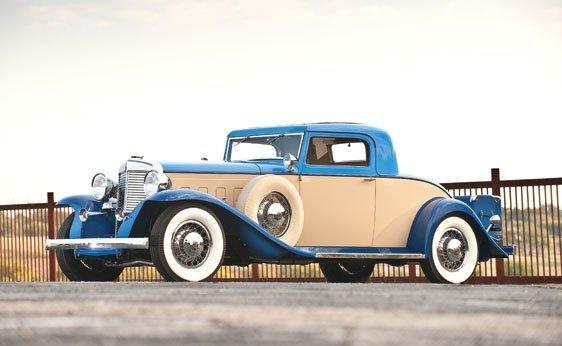 279: 1931 Marmon Sixteen Coupe