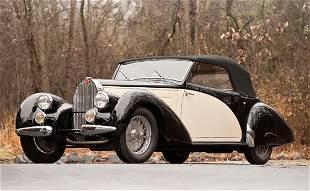 287: 1939 Bugatti Type 57C Three-Position Drophead Coup