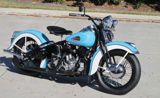 101: 1940 Harley-Davidson U Flathead