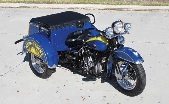 103: 1950 Harley-Davidson Servi-Car