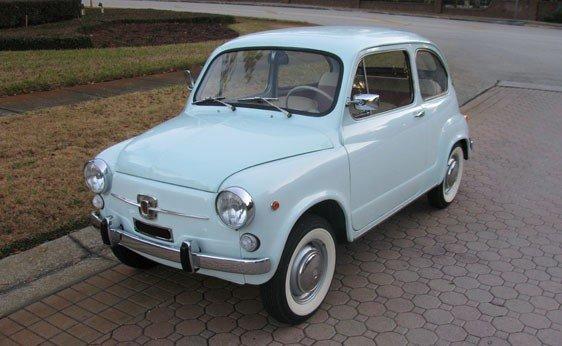 107: 1967 Fiat 600D