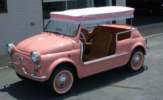 108: 1960 Fiat 500 Jolly