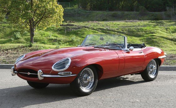 110: 1965 Jaguar E-Type Series I 4.2 Roadster