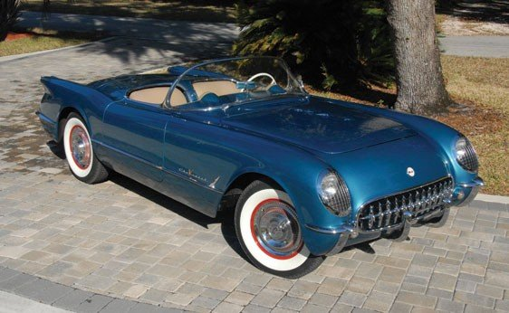 113: 1955 Chevrolet Corvette Roadster