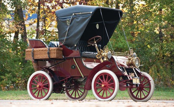 116: 1903 Cadillac Model A Rear-Entry Tonneau