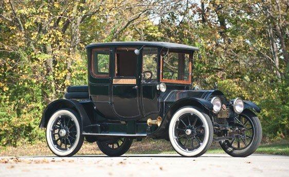 117: 1913 Cadillac 4-Passenger Coupe