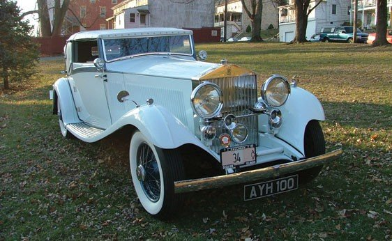 118: 1934 Rolls-Royce PII Continental Drophead Sedanca