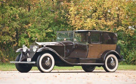 119: 1927 Rolls-Royce Phantom I Brougham Limousine de V